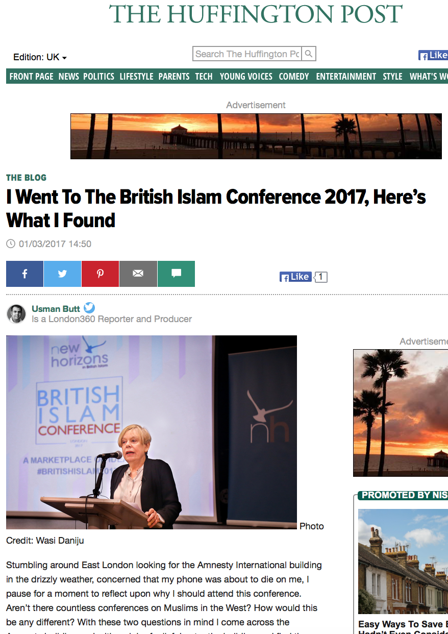 I Went to the British Islam Conference 2017, Here's What I Found