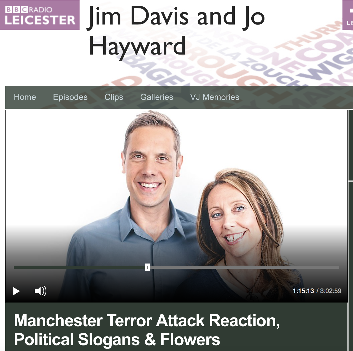 BBC Radio Leicester interview with Dilwar Hussain following Manchester bombing